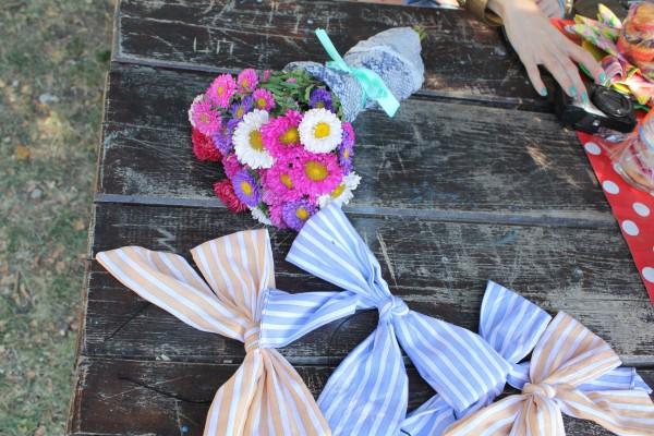 baby shower  papirna dekoracija