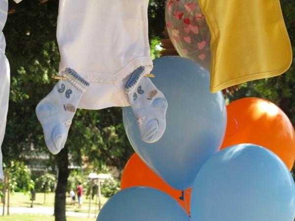 baby shower pokloni i baloni