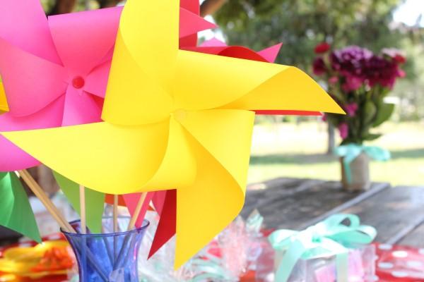baby shower vetrenjace od papira