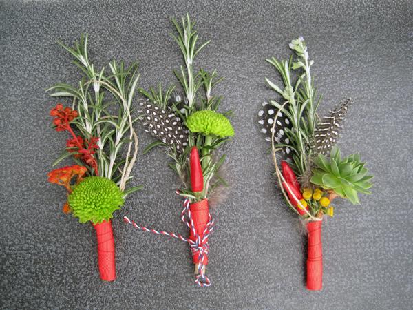 cvetici za kicenje svatova crveni