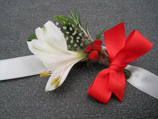 narukvice za kicenje svatova sa crvenom masnom