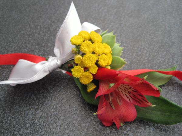 narukvice za kicenje svatova sa pravim cvecem