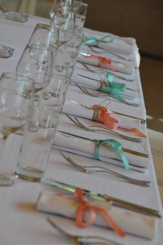 trake oko salveta za vencanje