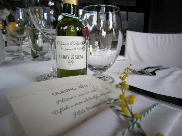dekoracija vencanja pokloni za goste