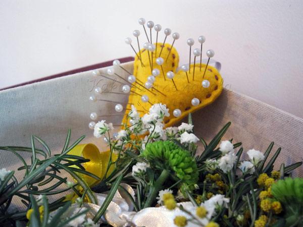 jastuce za spenadle za cvetice za kicenje svatova