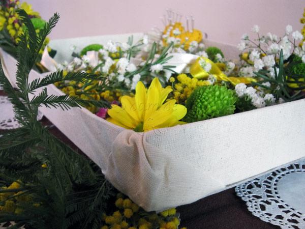 kutija za cvetice za kicenje svatova