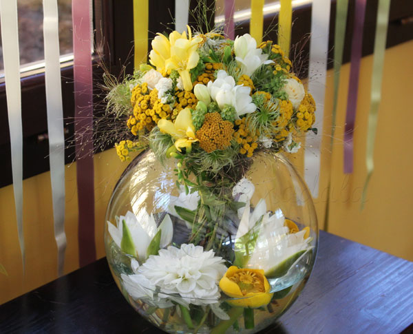 dekoracija-vencanja-cvetni-aranzman-zuto